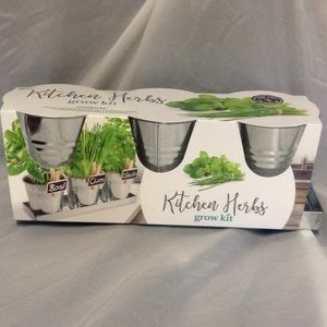Kitchen Herbs Grow Kit